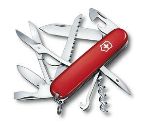 Victorinox - Couteau Suisse Huntsman Rouge 11 Pièces 16 Fonctions - 1.3713