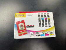 Genuine Canon Combo Pack 226B 226Y 226C 226M 4/PK NEW SEALED! Ink Cartridges