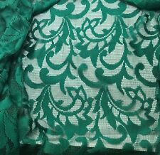 Dynasty Green Apostrophe Day Lace Maggy London LACE Fabric - 1/3 yard remnant