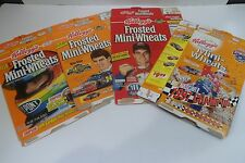 Vintage Jeff Gordon Kellogg's Frosted Mini Wheats  Cereal boxes lot of 4