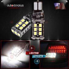 10 x Error Free 912 921 T10 168 Bright White LED Bulbs For Backup Reverse Light