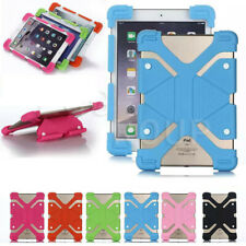 "For 10"" 10.1"" 10.6"" Tablet PC Universal Shockproof Soft Silicone Case Cover Gift"