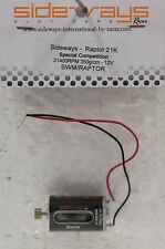 SIDEWAYS SWM/RAPTOR 21,000 RPM HIGH TORQUE MOTOR NEW!-1/32 SLOT CAR PARTS