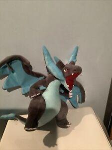Mega Charizard X Plush Figure Pokemon