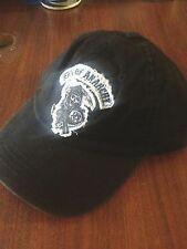 Authentic Sons Of Anarchy Small Reaper Tattered Soa Logo Biker Samcro Hat Cap