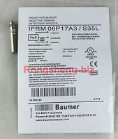 1PC Brand New Baumer sensors IFRM 06P17A3 / S35L