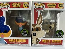Funko Pop! Animation Looney Tunes - Road Runner #735 And Wile E Coyote #734