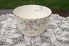 LOVELY ADDERLEY CHINA SMALL FLUTED SERVING BOWL! SPRAYS OF PINK POSIES