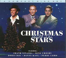 CHRISTMAS WITH THE STARS - 3 CD BOX SET - FRANK SINATRA, BING CROSBY & MORE