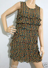 ** REVIEW ** sz 10 - 12 layered, tiered floral patterned DRESS - excellent cond