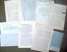1935 LOTTO DOCUMENTI SUL PODERE MADRARA POSTO A COTIGNOLA OPERE PIE COTIGNOLESI
