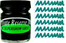 PRIVATE RESERVE - Fountain Pen Ink Bottle - DC SUPERSHOW GREEN -  66ml - New