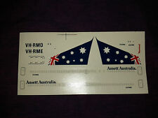 """Roodecal 1/200th Scale Ansett Boeing B767-200 """"Australian Flag Livery"""""""