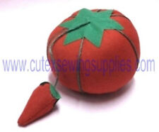 Tomato Pin & Sewing Needle Cushion