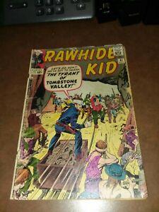 Rawhide Kid #41 marvel 1964 Jack Kirby Cov Tyrant Of Tombstone Valley Stan Lee
