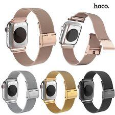 HOCO Milanese Mesh Loop Strap For Apple Watch 5 4 3 2 Stainless Steel Metal Band