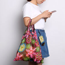 Eco-Friendly Recycle Fashion Foldable Handy Shopping Bag Reusable Tote Compact