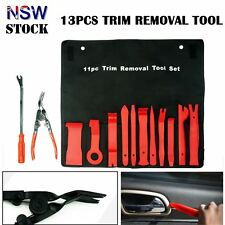 A set of 13 Trim Removal Kit Pry Bar Tool Panel Door Clip Open Remover