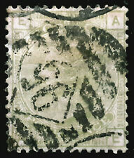 Great Britain Stamp 1877 4d Queen Victoria Plate 15 Scott # 70 SG153 Used