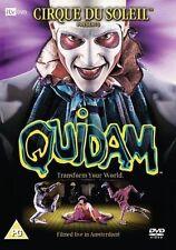 QUIDAM CIRQUE DU SOLEIL DAVID MALLET FRANCO DRAGONE UK REGION 2 DVD NEW