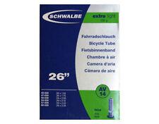 Chambres à air de vélo noir Schwalbe 26 pouces