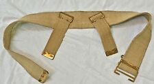 BRITISH WWI P08 WEB BELT - REPRODUCTION, size up to 44