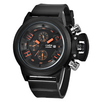 MONTRE POUR HOMME SPORT QUARTZ CHRONOGRAPHE WATCH MEN RELOJ HOMBRE HERRENUHR