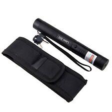 Adjustable Focus 303 Blue violet Laser Pointer Pen 405nm 5mw High Power+Holster