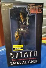 Diamond Select Femme Fatales Batman Animated Series Talia Al Ghul statue NIB MIB