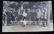 Original alte Foto / Postkarte Garde Verein HERFORD 20iger Jahre