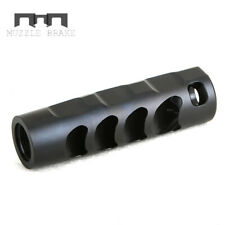 Muzzle Brake 6.5MM 5/8x24 Stainless Compensator Washer Black Thread Protector
