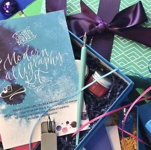 Beginners Modern Calligraphy Kit - Kirsten Burke Luxury Calligraphy Starter Gift