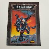 1999 Games Workshop Warhammer 40k Codex Assassins