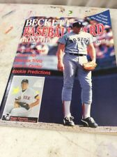 Beckett Baseball Magazine Monthly Price Guide March 1987 Rodger Clemens