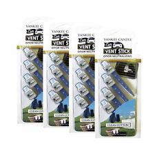 Yankee Candles Car Freshener (4-Packs Total 16 Sticks), Clean Cotton