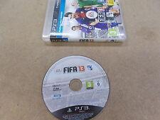 PS3 Playstation 3 PAL jeu FIFA 13 AVEC BOITE instructions