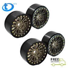 "for 1:10 RC Crawler Axial SCX10II D90 TRX4 4PCS Aluminum 1.9"" Beadlock Wheel Rim"