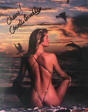 Christie Brinkley signed 10x8 Image D photo UACC AFTAL Registered dealer COA