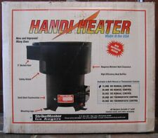 "StrikeMaster Handi-Heater 15K Btu/hr Tent Camping Cabin Heater Stove 3"" B Vent"