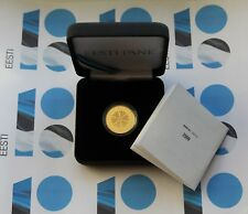 ESTONIA 100 € Euro GOLD COLLECTOR COIN 2018 - Republic of Estonia 100