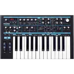 Novation Bass Station II 25-Key Monophonic Analog Synthesizer + Decksaver