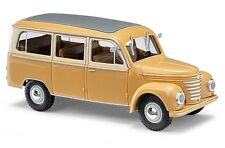 "Busch 51252, Framo v901/2, Bus ""BRUN"", h0 Garage 1:87"