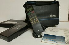 Vintage AT&T Cellular 1994 Phone 3010/3015 Case Bag Phone Battery Car Charger