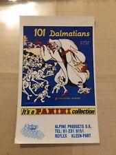 STICKER autocollant ALPINE PRODUCTS PANINI 101 Dalmatiens Disney ANNEE 90 ancien