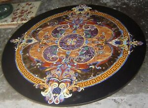 Marble Restaurant Table Top Stone Dining table Handcrafted from India 48 Inches