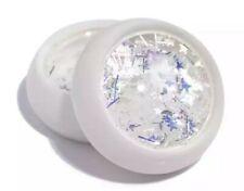 Iridescent Aurora Nail Art Glitter Decal Star, Moon Flakes Mix Nail Sequins