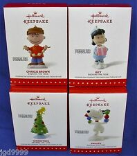 Full Peanuts Gang Ornament Set 2015 Decking the Tree Snoopy Lucy Charlie Brown