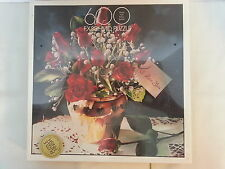 Hearts and Flowers Roses  I  Love You 600 Piece Puzzle FX Schmid NEW Damaged Box