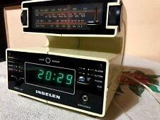 Ingelen Form 100-Electronic-Radiowecker-Radio-Wecker-Uhr-Clock-70er Jahre