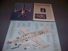VINTAGE..AERO L-159A..SPECS/CUTAWAY/3-VIEWS.. (235C)
